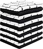 12 Pack Kitchen Towels, 15 x 25 Inches Cotton Dish Towels, Tea Towels and Bar Towels