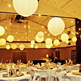 Novelty Place 12 inch White Paper Lanterns