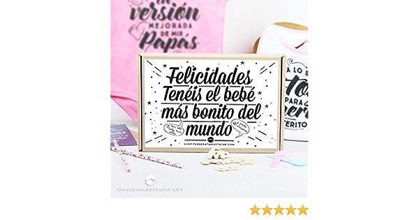 The Great Moustache - Kit - Tenéis El Bebé Más Bonito Del Mundo Color Rosa, Talla 6-12 Meses
