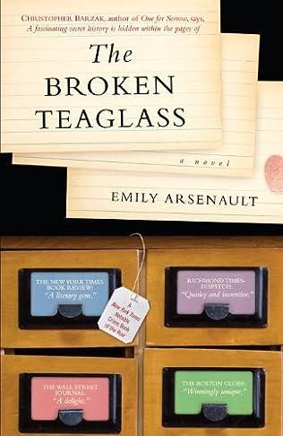 book cover of The Broken Teaglass