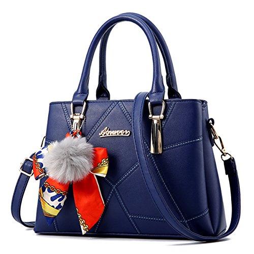 Pochette Aoturui pour pour Bleu pour femme Bleu Aoturui femme Pochette femme Aoturui Pochette Bleu Aoturui nYqYw4C0