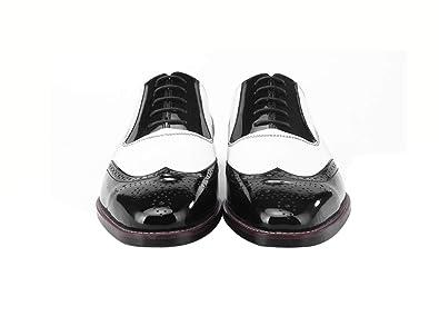 Amazon.com: Zapatos Oxford de piel hechos a mano, color ...
