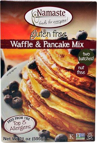 Namaste Foods Waffle and Pancake Mix Gluten Free 21 oz[ Pack of 2]