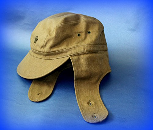 [St. Patrick's Day SALE! USSR Russian Military Afghanistan soldier Cap +Pin Hat field forage size 59 XL WINTER] (Sheriff Hats For Sale)