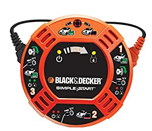 Black and Decker BDBBC2C Cables De Arranque Fácil, 12V
