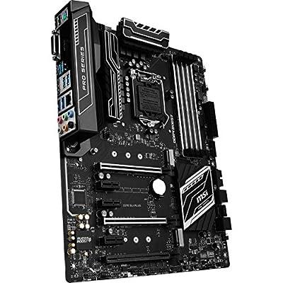 MSI Pro Series Intel Z270 DDR4 HDMI USB 3 SLI ATX Motherboard by MSI COMPUTER