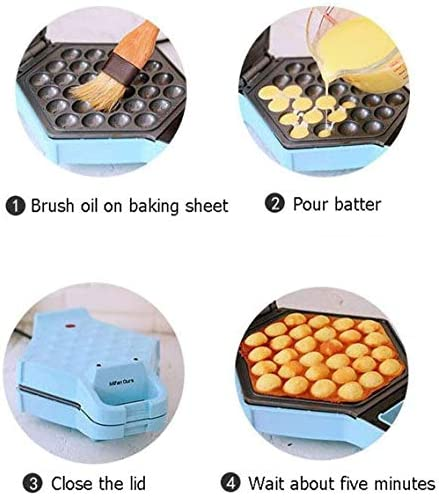 LLDKA Fours, gaufriers Rotation de 180 ° gaufres Fabricants de Machines à Muffins présenté crêpière crêpe gaufres Belges