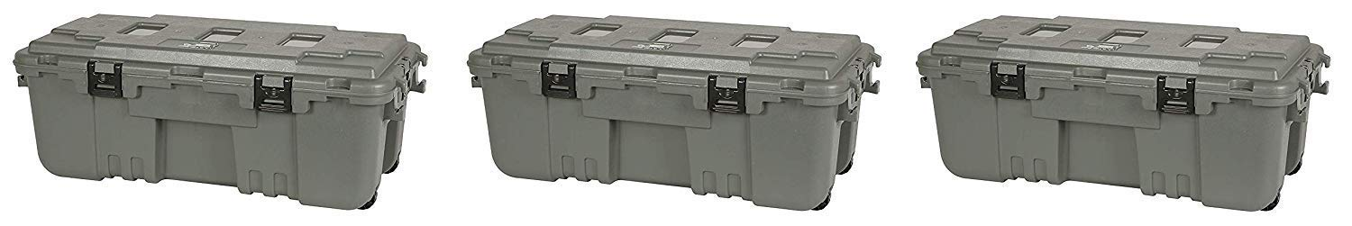 Plano 1819 Storage Trunk (Pack of 3) by Plano
