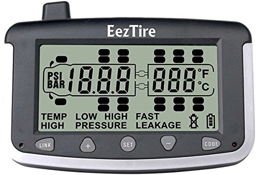 EEZTire Tire Pressure Monitoring System - 10 Flow-Through Sensors (TPMS) - FREE U.S. SHIPPING AT CHECK OUT by EEZTire by EEZ RV PRODUCTS (Image #1)