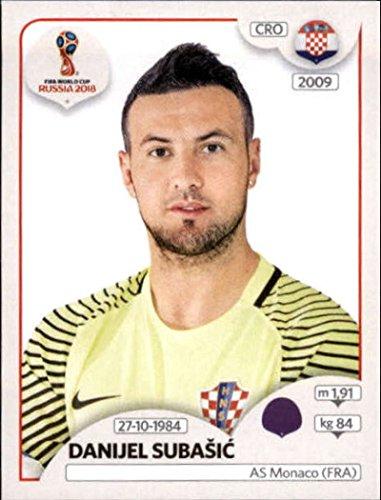 2018 Panini World Cup Stickers Russia #314 Danijel Subasic