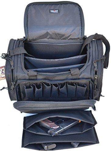 Best Price! Explorer Tactical Large Padded Deluxe Tactical Range Bag - Rangemaster Gear Bag