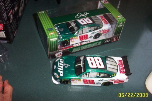 Motorsports Authentics Dale Earnhardt Jr #88 AMP Energy Mountain Dew National Guard Pit Stop Edition Car of Tomorrow Today COT 1/24