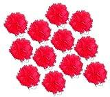 Mexican Fiesta Crepe Paper Flowers - Carnations (Medium Size one dozen)