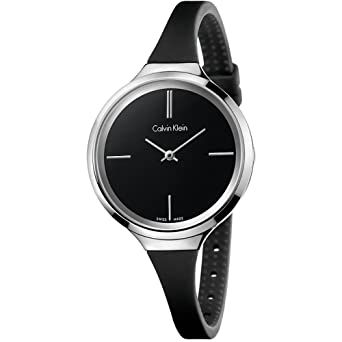 Calvin Klein Womens Lively Watch - K4U231B1 Black One Size