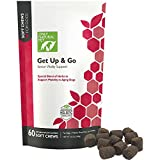 Only Natural Pet Get Up & Go Herbal Joint Support Supplement For Dogs - Holistically Formulated With Corydalis & Turmeric Hip & Joint Daily Vitamin - Bacon Flavor 60 Soft Chews