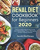 Renal Diet Cookbook for Beginners 2020: The