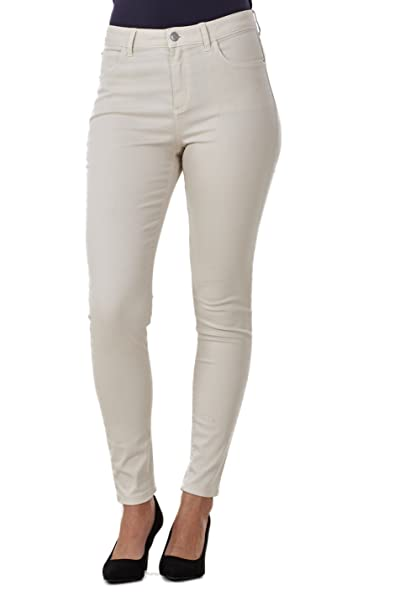 f990337b075 Ex Famous Store Ladies Quality Skinny Jeans Womens Slim Fit Denim Cotton  Stretch  Amazon.co.uk  Clothing