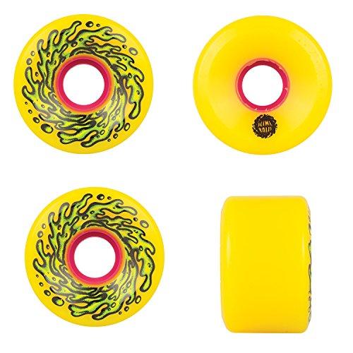 Santa Cruz Slime Balls 60Mm Og Slime 78A Skateboard Wheels  Yellow