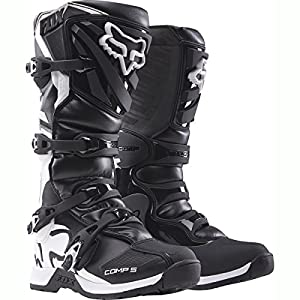 Fox Racing Comp 5 Men's Off-Road Motorcycle Boots - Black / Size 10