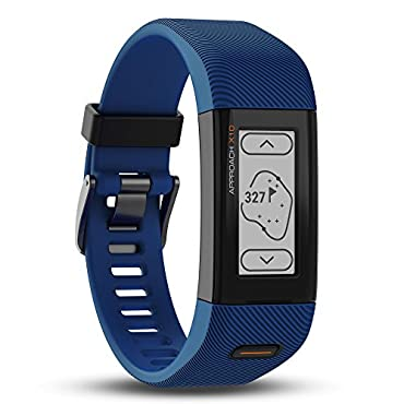 Garmin Approach X10 GPS Golf Band, Bolt Blue, Small/Medium, 010-01851-01