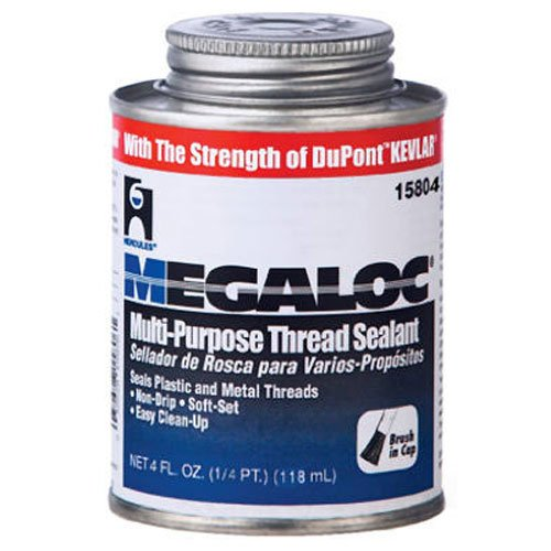 Small Joint Sealer - Oatey 15804 Hercules Megaloc Multi-Purpose Thread Sealant