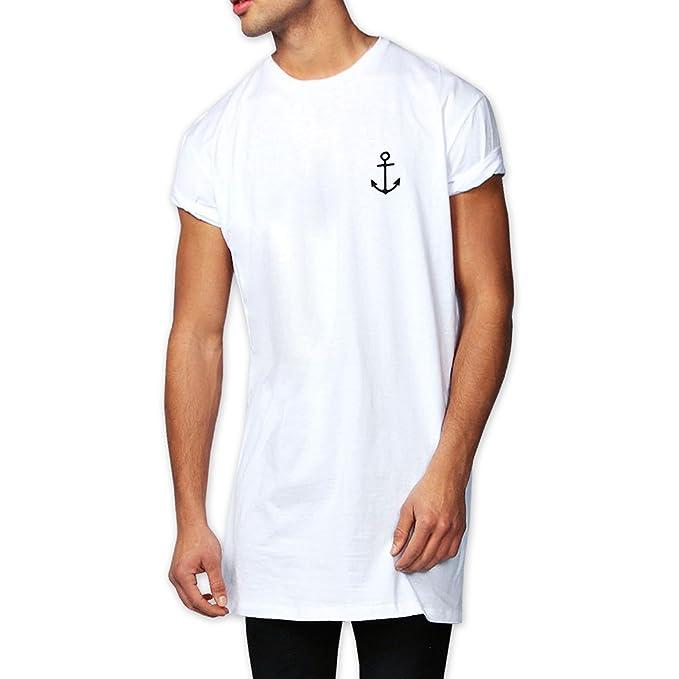 VIENTO Laser The Poet Camiseta Larga para Hombre ErHBum6nE
