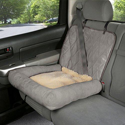 PetSafe Solvit 62432 Car Cuddler, Small, Grey