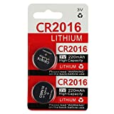 CR2016 Key Fob Remote Battery (2-Pack): more info