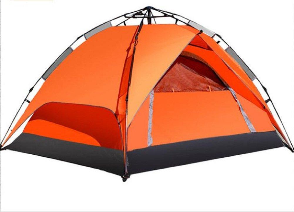 Zelt Im Freien Camping Camping Double Rain Automatische 3  4 Personen