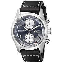 Hamilton Men's H71566583 Khaki Field Leather Chronograph Watch