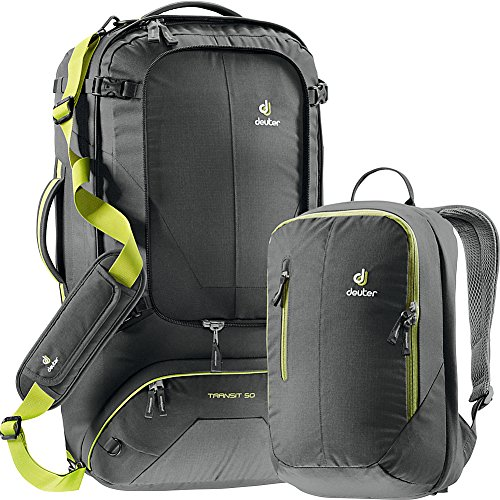 Deuter Transit 50 Backpack - Anthracite/Moss by Deuter
