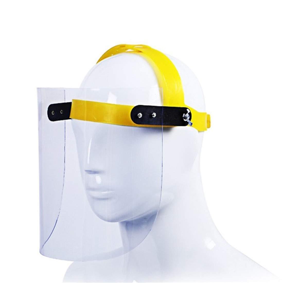Máscara protectora transparente Epidemia de máscara de protección facial Protección del Trabajo de protección aceite for engranajes Grinder mascarilla facial