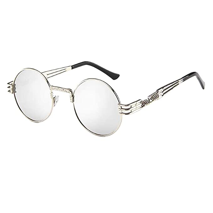 fazry Gafas de sol retro para mujer y hombre, estilo vintage ...