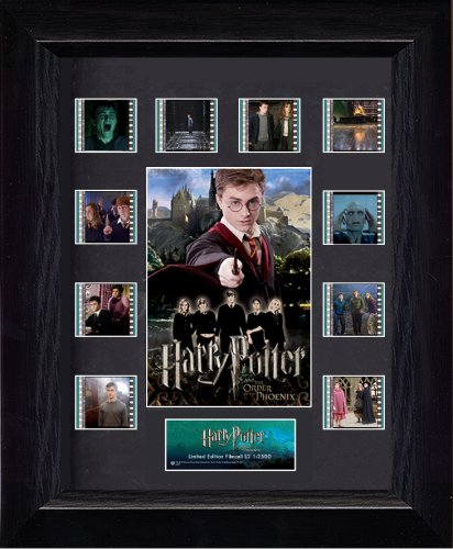 Warner Bros Harry Potter and the Order of the Phoenix (Series 2) Mini Montage Film Cell Presentation 2 Mini Film Cell