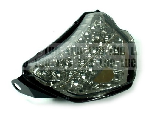 Motorcycle Parts Rear LED Turn Signal Tail Light Smoke Fit For Suzuki GSXR600 GSXR750 GSX-R K4 2004-2005 (Rear Tail Gsxr600)