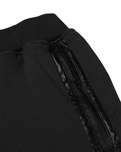 Sport Noir Survêtement Sweat Sarouel Pantalon Homme 1 Pants Modchok Formation Jogging Casual qF0xB