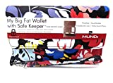 MUNDI Women's Faux Leather MY BIG FAT WALLET Flap RFID Clutch Ladies (One Size) i747x (Floral)