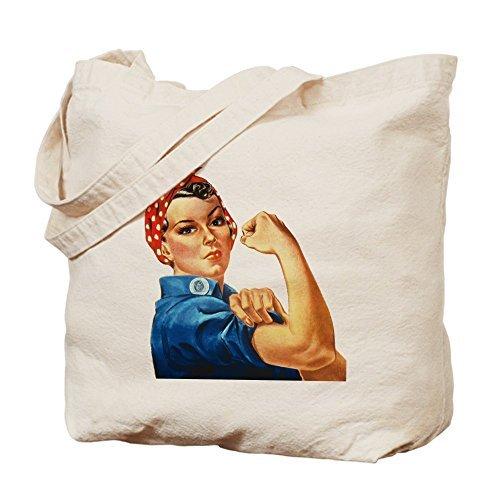 Rosie the Riveter – コットンキャンバスショッピングバッグ、トートバッグバッグDesigned by leiacikl22 B078W6QJQ6