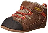 KEEN Targhee Crib Shoe (Infant),Dark Earth/Bossa