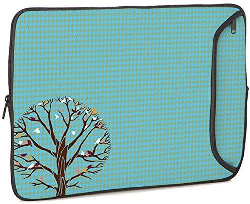 Designer Sleeves 13-Inch Autumn Birds Laptop Case (13DS-AUTB)