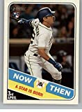 2018 Topps Heritage High Number Now and Then #NT-8 Christian Villanueva Padres