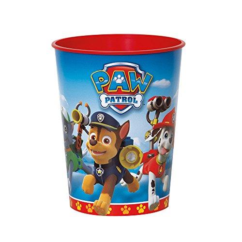 16oz PAW Patrol Plastic Cups, 12ct