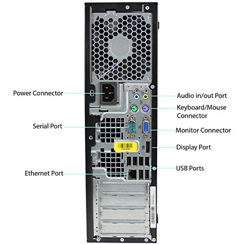 HP 8300 Elite Small Form Factor Desktop Computer (Intel Core i5-3470 3.2GHz Quad-Core, 8GB RAM, 500GB SATA, Windows 10 Pro 64-Bit) (Renewed)