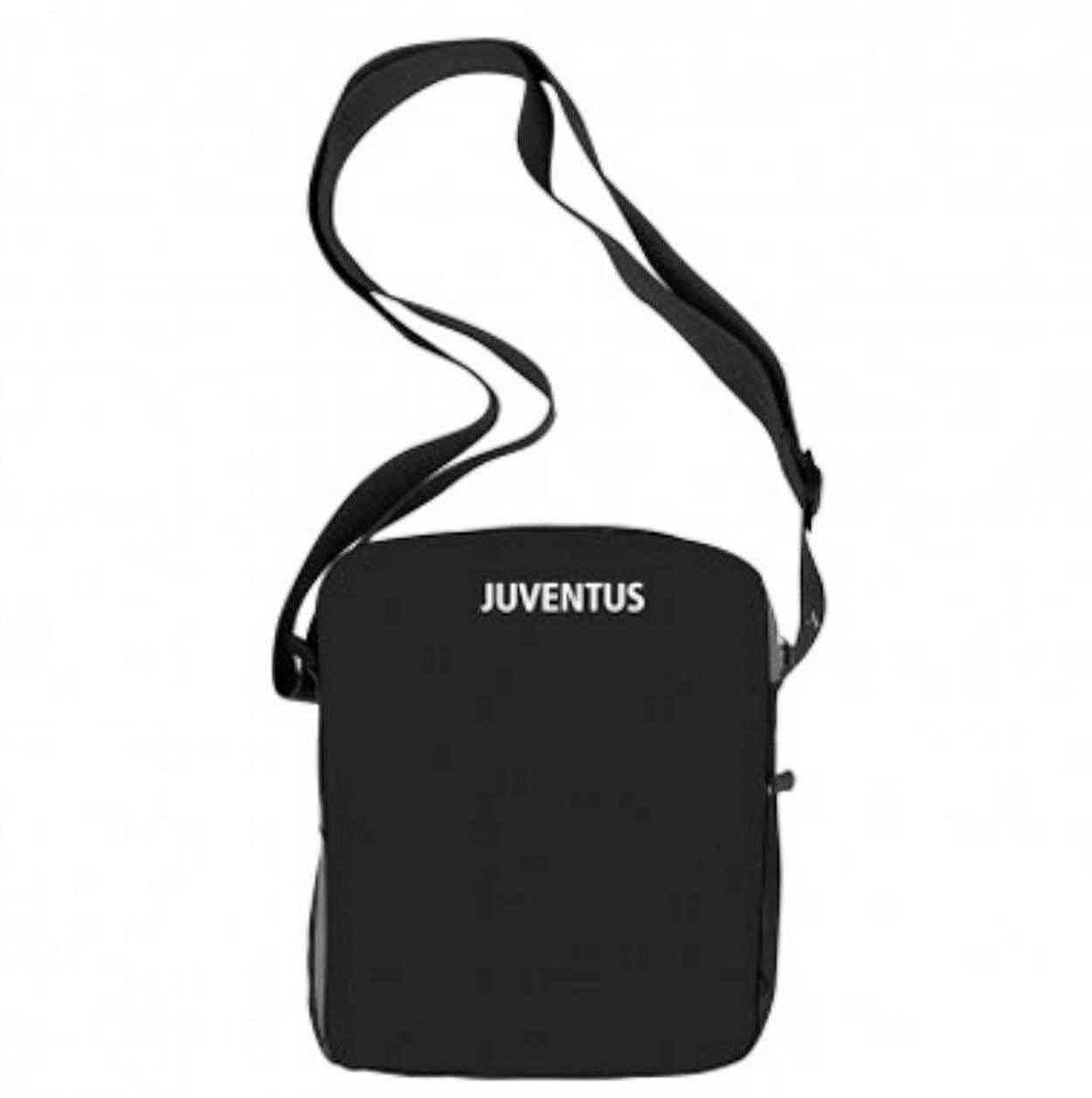 8da51c26b4 FC JUVENTUS ORIGINALE BORSA TRACOLLA TELA 13761: Amazon.it: Abbigliamento