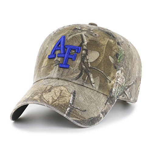 (NCAA Air Force Falcons Realtree OTS Challenger Adjustable Hat, Realtree Camo, One Size)