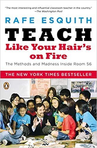 Books to survive teacher burnout.