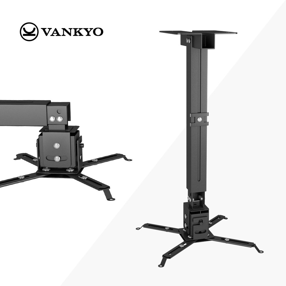 VANKYO Universal LED HD Projector Ceiling Mount Wall Bracket Holder for Different Size Projector