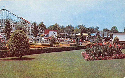 Cincinnati Ohio Mall At Coney Island Amusement Vintage Postcard - Ohio Malls Cincinnati