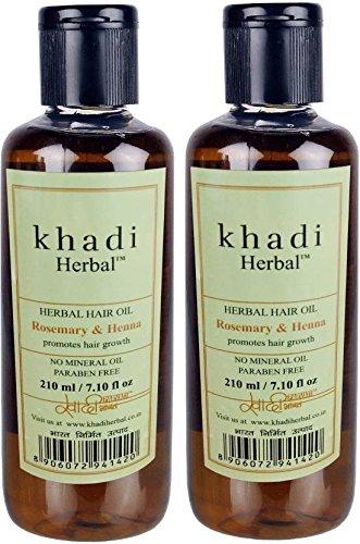 Buy Khadi Herbal Rosemary Henna Hair Oil With Paraben Mineral