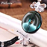 Daphot-Store - Luxury Replica Crystal''Wish Your safety'' Car Pendant Car Accessories Hanging Ornament For Car Rearview Mirror